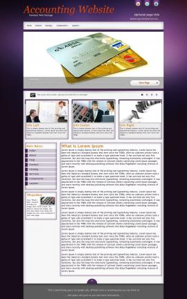 Acclaim Accounting Website Template