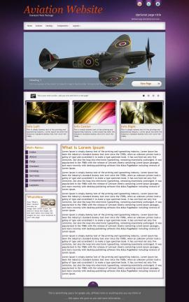 Acclaim Aviation Dreamweaver Template