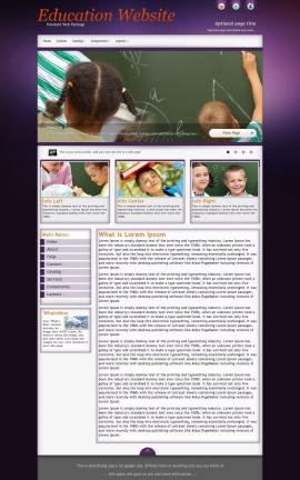 Acclaim Education Website Template
