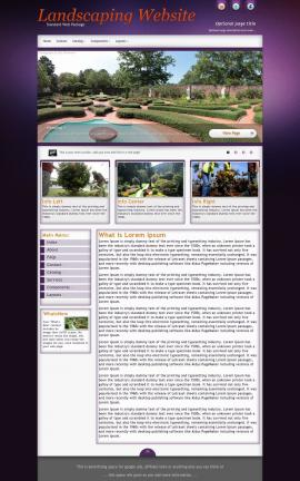 Acclaim Landscaping Website Template