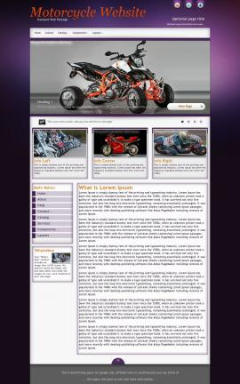 Acclaim Motorcycle Website Template