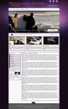 Acclaim Photography Website Template