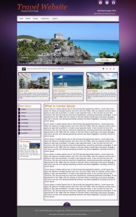 Acclaim Travel Website Template