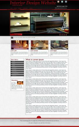 Instinct Interior-design Website Template