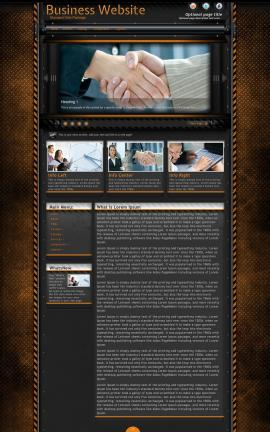 Gridlock Business Website Template