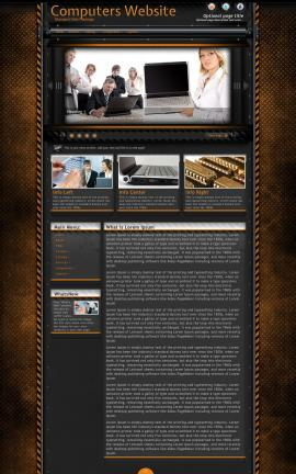 Gridlock Computers Website Template