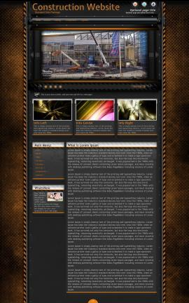 Gridlock Construction Website Template
