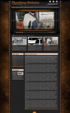 Gridlock Plumbing Website Template