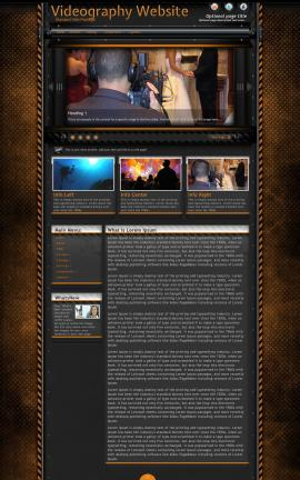 Gridlock Videography Website Template