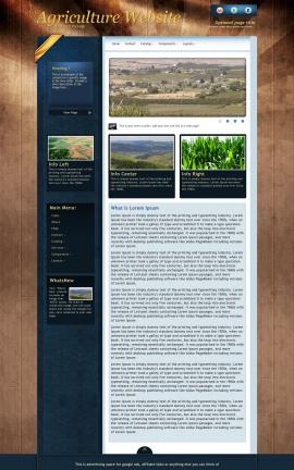 Daytimer Agriculture Website Template