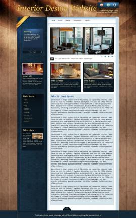 Daytimer Interior-design Website Template