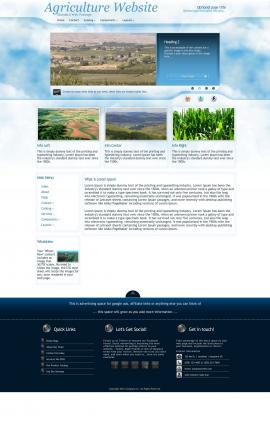 Ambiance Agriculture Website Template