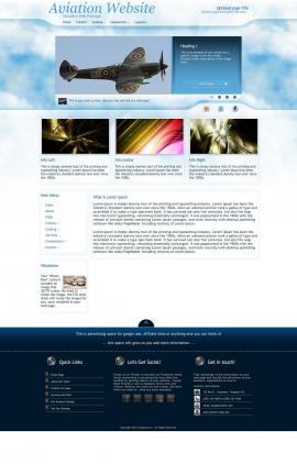 Ambiance Aviation Dreamweaver Template