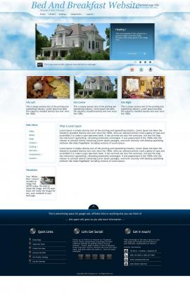 Ambiance Bed-and-breakfast Website Template