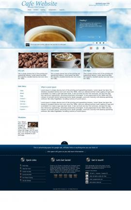 Ambiance Cafe Website Template