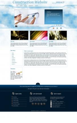 Ambiance Construction Website Template