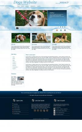 Ambiance Dogs Website Template