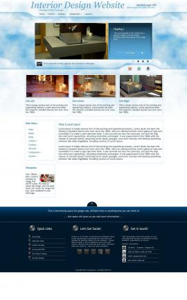 Ambiance Interior-design Website Template