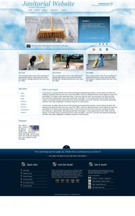 Ambiance Janitorial Website Template