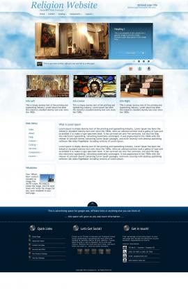 Ambiance Religion Web Template