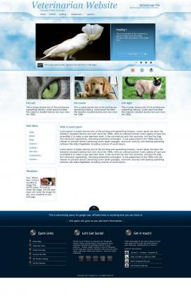 Ambiance Veterinarian Website Template