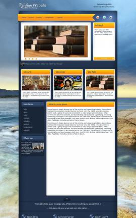 Aura Religion Web Template