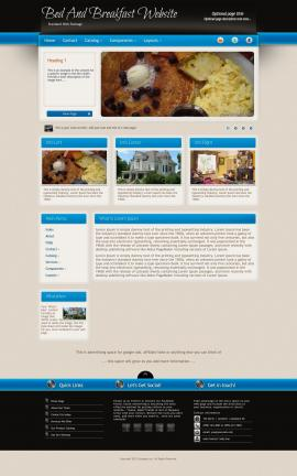 Promotion Bed-and-breakfast Website Template