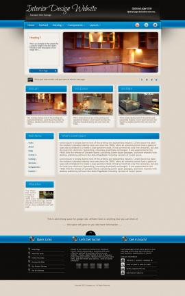 Promotion Interior-design Website Template