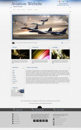Priority Aviation Dreamweaver Template