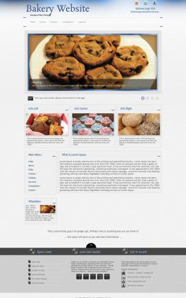Priority Bakery Website Template