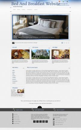 Priority Bed-and-breakfast Website Template