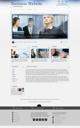Priority Business Dreamweaver Template