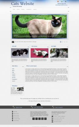 Priority Cats Website Template