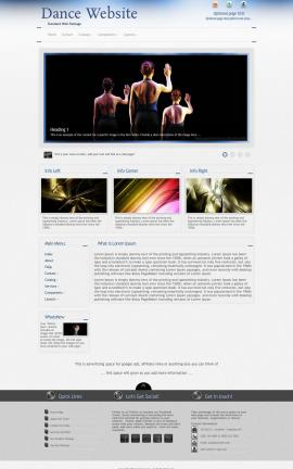 Priority Dance Website Template