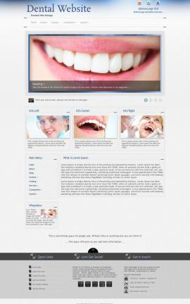 Priority Dental Website Template