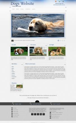 Priority Dogs Website Template