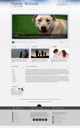 Priority Family Website Template