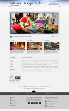 Priority Interior-design Website Template