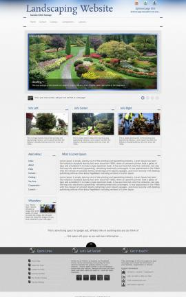 Priority Landscaping Website Template