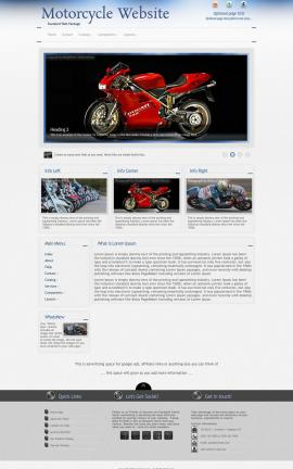 Priority Motorcycle Website Template