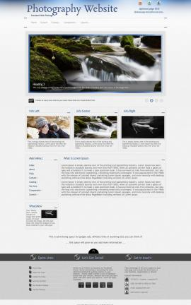 Priority Photography Website Template
