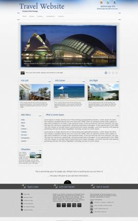 Priority Travel Website Template