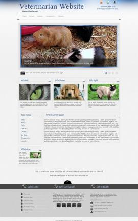 Priority Veterinarian Website Template