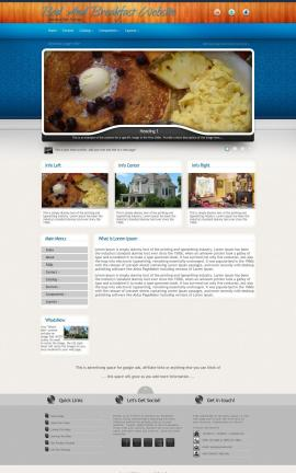 Uptown Bed-and-breakfast Website Template