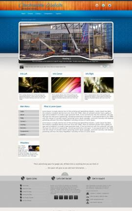 Uptown Construction Website Template