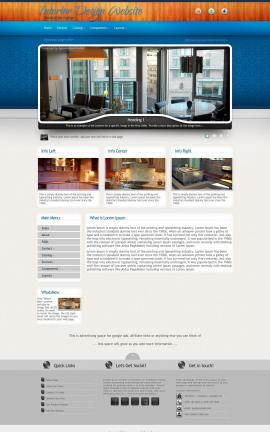 Uptown Interior-design Website Template