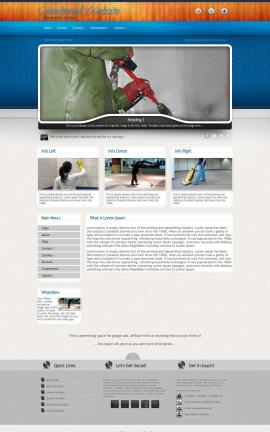 Uptown Janitorial Website Template
