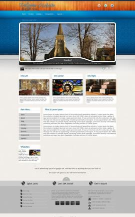Uptown Religion Web Template