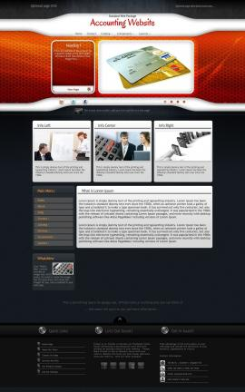 Honeycomb Accounting Website Template