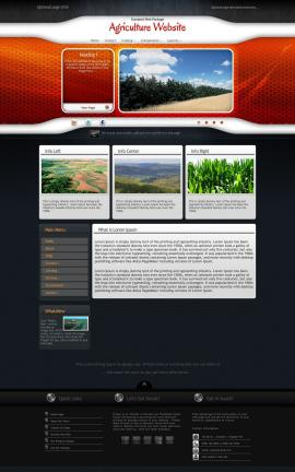 Honeycomb Agriculture Website Template